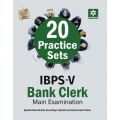 The Arihant book of 20 Practice Sets for IBPS-V Bank Clerk Main Examination