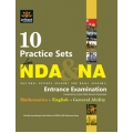 The Arihant book of 10 Practice Sets NDA & NA Entrance Exam