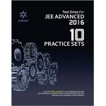 The Arihant book of Test Drive for JEE Advanced 2016 - 10 Practice Sets