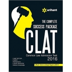 The Arihant book of The Complete Success Package: CLAT (Common Law Admission Test) 2016