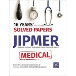 The ARihant book of 16 Years' 2000-2015 Solved Papers JIPMER Medical