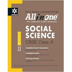 The Arihant book of All in One: Social Science CBSE Class X - Term-II