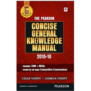 The Arihant book of The Pearson Concise General Knowledge Manual 2016