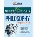 The Arihant book of UGC NET/JRF/SLET - PHILOSOPHY Paper II & III