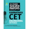 The Arihant book of 16 Years'' Solved Papers 2000-2015 Karnataka CET Engineering Entrance