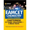 The Arihant book of EAMCET Chemistry (Andhra & Telangana) Chapterwise 25 Years'' Solutions and 5 Mock Tests
