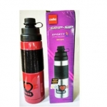 Cello Grip Sip Stainless Steel Bottle, 500ml, Purple