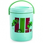 Cello Spice Insulated 3 Container Lunch Carrier, Green