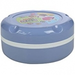 Cello Munch Small Lunch Box with 1-Container, Outer Material Plastic, Color Blue