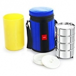 Cello Kingstone 4 Container Lunch Packs, Blue