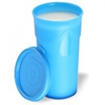 Cello Max Fresh Jumbo Polypropylene Tumbler, 350ml, Blue