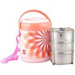 Cello Mark 3 Insulated Lunch Carrier, Pink