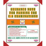 Shri Gurukripas book of Padhuka's Guidance Note for Passing the C.A Examinations