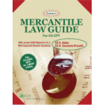 Shree gurukripa book of Padhuka's Mercantile Law Guide - For CA CPT