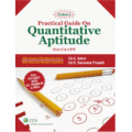 Shree gurukripa book of  Padhuka's Practical Guide on Quantitative Aptitude - For CA CPT