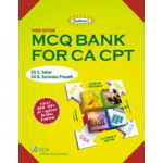 The Shree gurukripa book of MCQ Bank for CA CPT