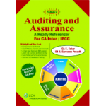 Shree gurukripa book of Padhuka's Auditing and Assurance A Ready Refencer For CA Inter (IPCC)
