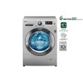 LG 8 KG WASHER WITH LED TOUCH PANEL, LUXURY SILVER WASHING MACHINE