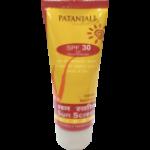 Patanjali Sun Screen Cream SPF 30 PA++ 50 g