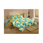 Raymond Double Cotton Abstract Bed Sheet