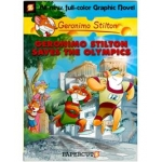 Scholastic Book of  Scholastic Geronimo Stilton Saves The Olympics Graphic Book