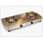 SUNFLAME PRODUCTS - Designer Glass Cooktops Crystal Metal Art Gold 2B SS