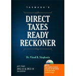 DIRECT TAX READY RECKONER AYs 2012-13 & 2013-14