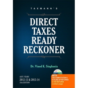DIRECT TAX READY RECKONER AYs 2012-13 & 2013-14