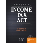 Income Tax Act, 2012 Edition (A.Y 2012-13 & 2013-14)