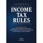 Income Tax Rules, 2012