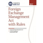 The Taxmann book of Foreign Exchange Management Act With Rules