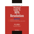The Taxmann book of Practical Guide To NPA Resolution