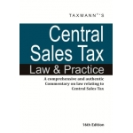 The Taxmann book of Central Sales Tax Law and Practice