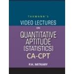 The Taxmann CA-CPT - Video Lectures on Quantitative Aptitude (Statistics) (Set of 2 DVDs)