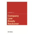 The Taxmann book of Company Law Ready Reckoner