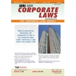 The Taxmann book of SEBI and Corporate Laws - The Corporate Laws