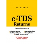 The Taxmann book of e-TDS Returns (Single User) (F.Y. 2017-18)