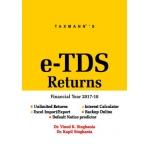 The Taxmann book of e-TDS Returns (Multi User) (F. Y. 2017-18)