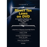 The Taxmann Direct Tax Laws on DVD