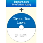 The Taxmann Direct Tax Laws on DVD plus Income-tax Web Module