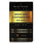 Wonder Herbal Brihat vatachintamani ras with gold 10 T