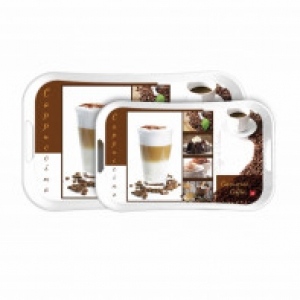 Cello Capri Tray Medium - Capuchino