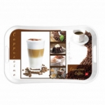 Cello Capri Tray Extra Large - Capuchino