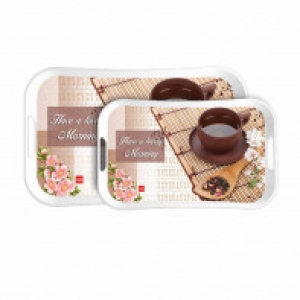 Cello Capri Tray Medium - Lovely Morning