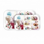 Cello Capri Tray Medium - Macroons