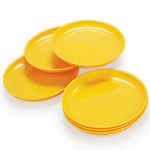 Cello Ware Party Plate Set (6 pcs) Yellow