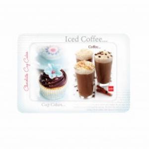 Cello Fiesta Tray Medium - Iced Coffee & Cupcakes