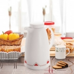 Cello Pluto Vacuum Flask White