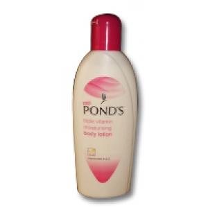 Pond's Body Lotion Triple Vitamin Moisturising Body Lotion - Vitamins B3, E & C
